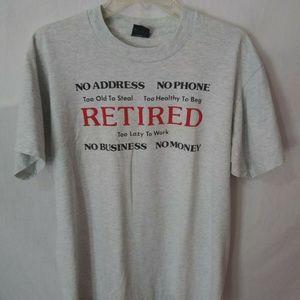 Vintage Screen Stars Best Novelty Retired T-Shirt